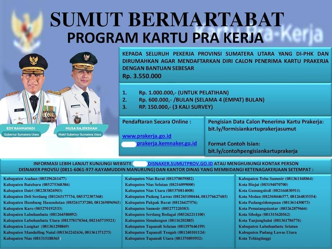 Informasi Kartu Pra Kerja